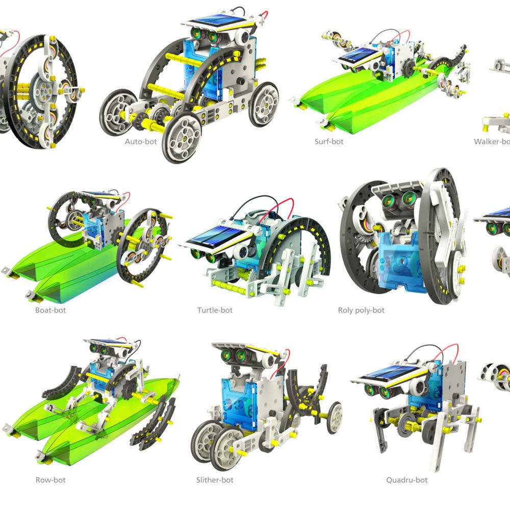 Конструктор робот 14в1 2