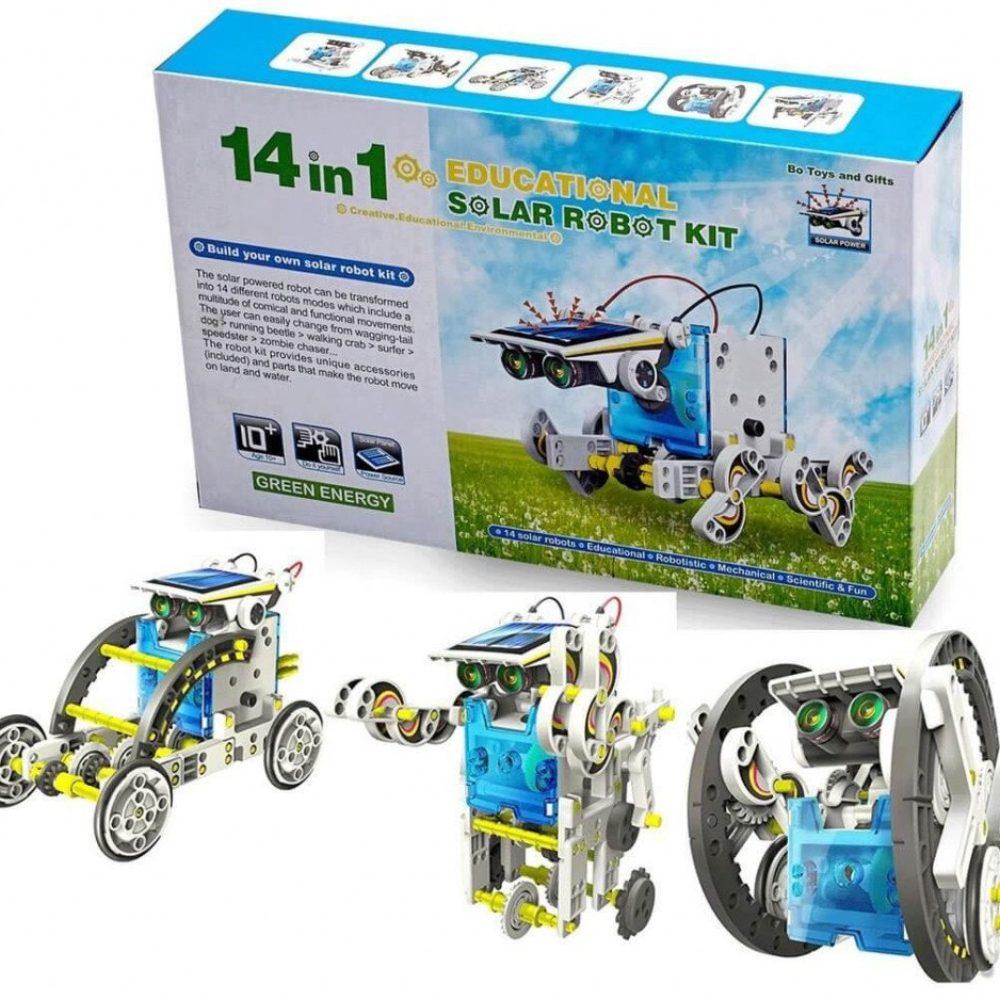 Конструктор робот 14в1 3