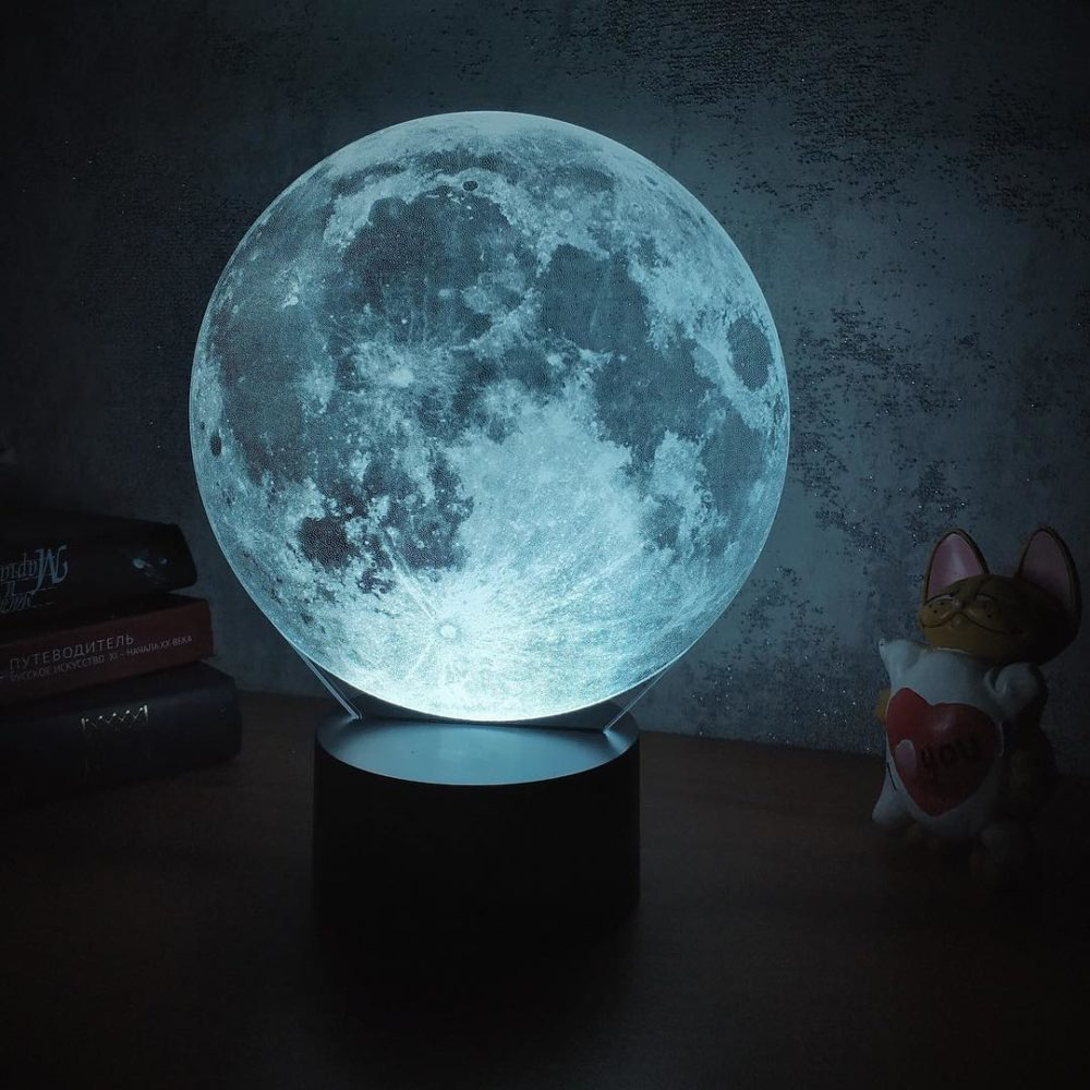 Ночник луна3