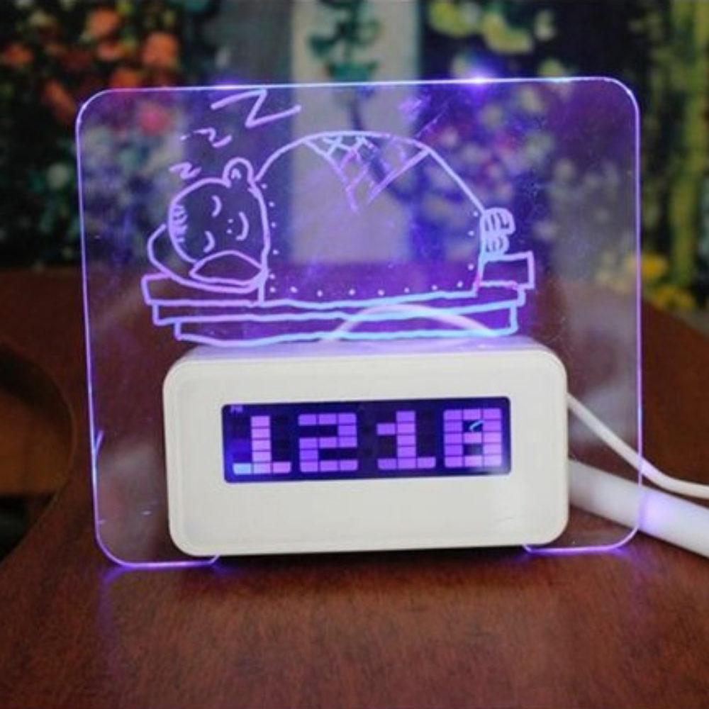LED будильник1